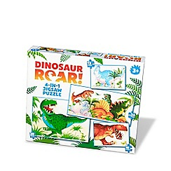 Paul Lamond Games - Dinosaur Roar 4:1 Puzzles