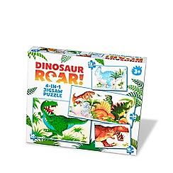 Paul Lamond Games - Dinosaur Roar 4:1 Puzzles