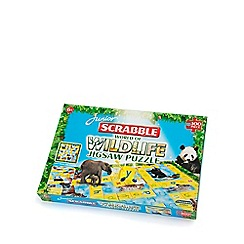 Paul Lamond Games - Scrabble Junior Wildlife 100  Pieces Puzzle