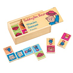 Paddington Bear - Wooden dominoes