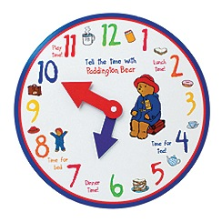 Paddington Bear - Clock