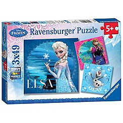 Disney Frozen - Ravensburger 3x49pc puzzle