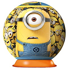 Despicable Me - Ravensburger Minions 3D Puzzle 72pc