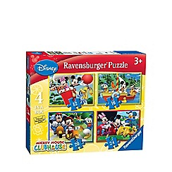 Mickey Mouse Clubhouse - Ravensburger 4 in Box puzzle