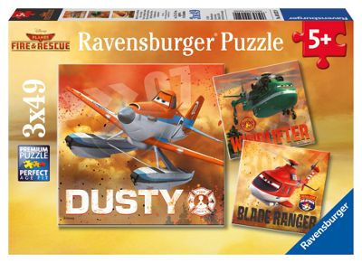Disney Planes Ravensburger 3x49pc puzzle - . -