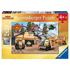 Disney Planes - Ravensburger 2 x 24pc puzzle