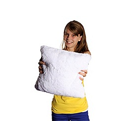 Re:creation - Bright Light Pillow White Starlight Square