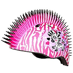 Re:creation - Raskullz Helmet Mohawk - Zebra Helmet