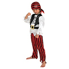 Rubie's - Raggy Pirate Costume - Medium
