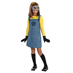Despicable Me - Girls Minion Costume - Medium