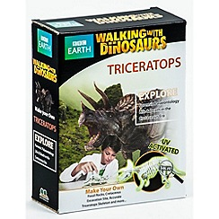 Walking With Dinosaurs - Make Your Own Triceratops