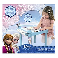 Disney Frozen - Colouring table