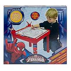 Spider-man - Colouring table