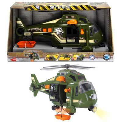 Dickie 41cm light and sound sky force helicopter - . -
