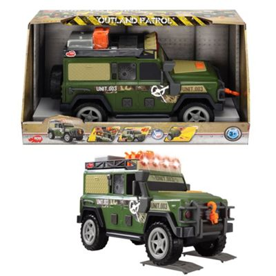 Dickie 34cm light and sound outland patrol 4x4 - . -