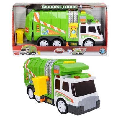 Dickie 39 cm light and sound garbage truck - . -