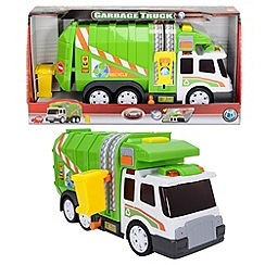 Dickie - 39 cm light and sound garbage truck