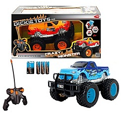 Dickie - Crazy monster rc truck 1:24