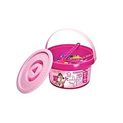 Meccano - 100 parts bucket (pink)