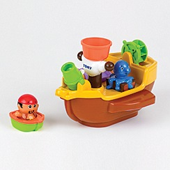 Tomy - Aquafun Pirate Ship Bath Toy