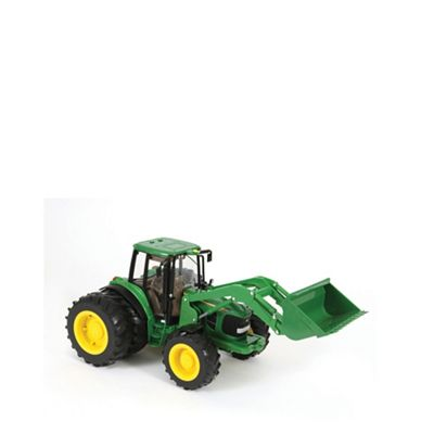 Britains Farm Big Farm John Deere 6830 Tractor with Dual Wheels and Front Loader - . -