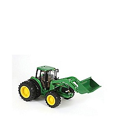 Britains Farm - Big Farm John Deere 6830 Tractor with Dual Wheels and Front Loader