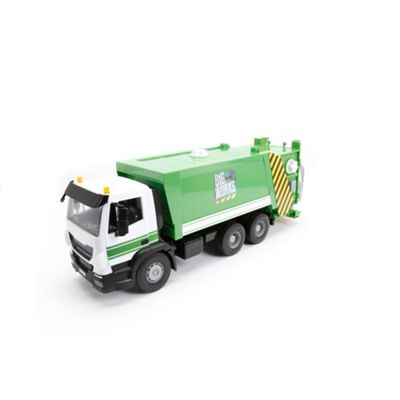 Britains Farm Big works iveco rubbish collection lorry - . -