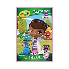 Crayola - Doc McStuffins Giant Colouring Pages