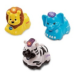 VTech - Toot-Toot Animals 3 pack ( Elephant, Zebra, Lion)