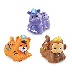VTech - Toot-Toot Animals 3 pack (Tiger, Hippo, Monkey)