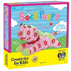 Creativity for Kids - Sew Cute Sock Puppy