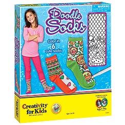 Creativity for Kids - Doodle Socks