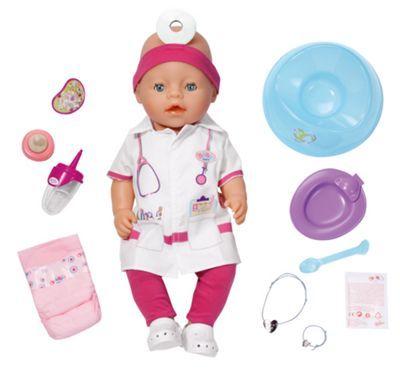 Baby Born Interactive Doll ´´Doctor´´ - . -