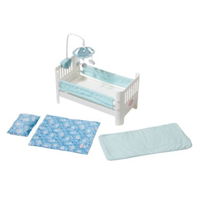 Baby Annabell Baby George Bed with Lullaby - . -
