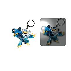 Skylanders - Swap force jet-vac keychain torch