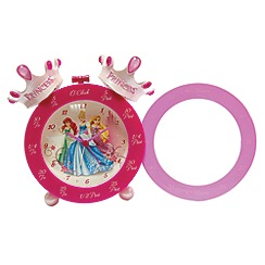 Disney Princess - Time teaching twin bell clock