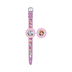 Disney Sofia the First - Interchangeable head watch