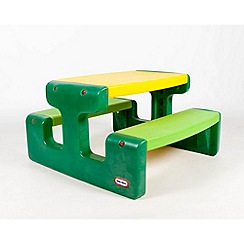Little Tikes - Large picnic table evergreen