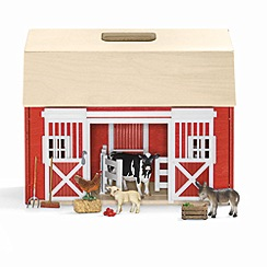 Schleich - Portal barn with animals