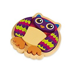 Little Helper - Oops Wooden 9 Piece 3D Puzzle - Wu the Owl