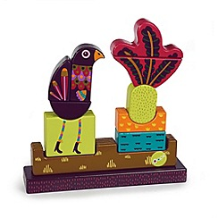 Little Helper - Oops Wooden 3D Magnetic Puzzle - Lady the Peacock