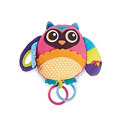 Little Helper - Oops Multi-Activity Soft Toy - Wu the Owl