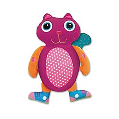 Little Helper - Oops Double-Textured Teether & Soft Toy - Jerry the Cat