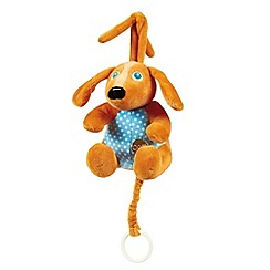 Little Helper - Oops Soft Lullaby Cot Toy - Happy the Dog
