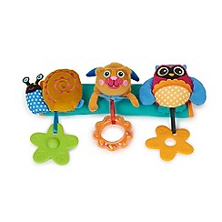 Debenhams - Oops Soft Stroller Toy Bar with Sunshine City 3D Friends