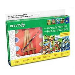 Reeves - Mini Paint By Numbers Art Set
