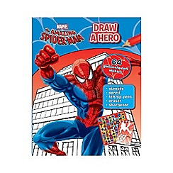 Spider-man - Marvel Draw A Hero Spider-Man