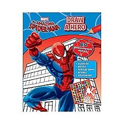 Spider-man - Marvel Draw A Hero Spider-Man