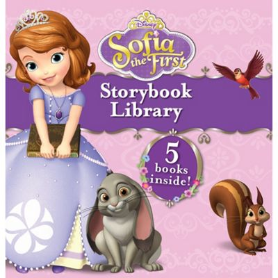 Disney Sofia the First Junior Storybook Library - . -
