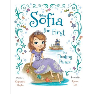 Disney Sofia the First The Floating Palace Deluxe Picture Book - . -